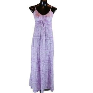 O'Neill Maxi Dress Size Med Gathered Bust
